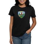 Mountain Village Police Women's Dark T-Shirt