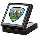 Mountain Village Police Keepsake Box