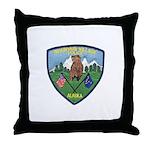 Mountain Village Police Throw Pillow