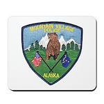 Mountain Village Police Mousepad