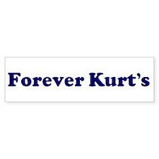 Forever Kurt's Bumper Bumper Sticker