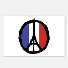 Peace For Paris Postcards (Package of 8)