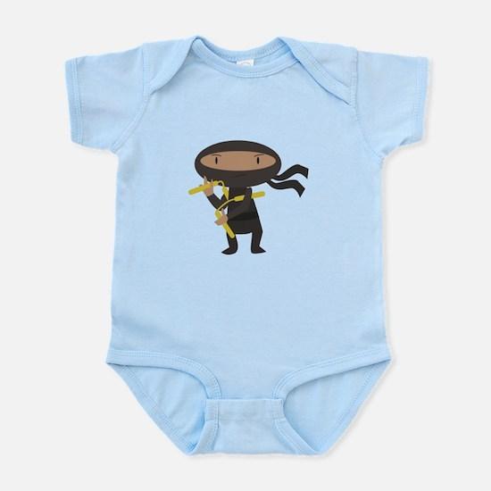 Funny Ninja Body Suit