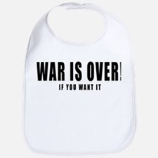 WAR IS OVER if you want it Bib