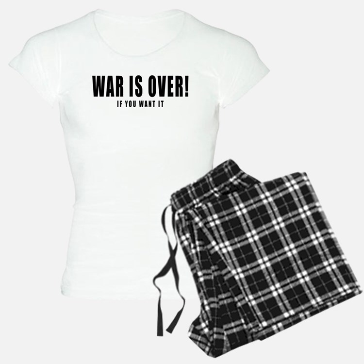 WAR IS OVER if you want it Pajamas