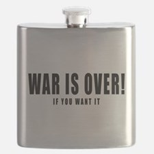 WAR IS OVER if you want it Flask