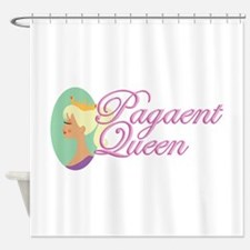 Pagaent Queen Shower Curtain