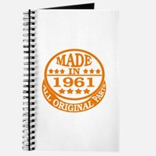 Made in 1961, All original parts Journal