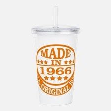 Made in 1966, All orig Acrylic Double-wall Tumbler