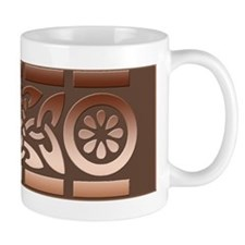 Coppery Celtic Design Shaving Mug