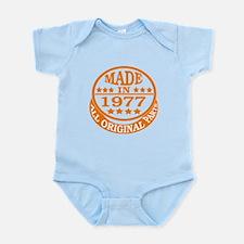 Made in 1977, All original parts Infant Bodysuit