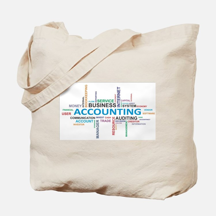word cloud - accounting Tote Bag