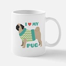 Love My Pug Mugs