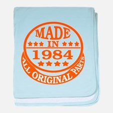 Made in 1984, All original parts baby blanket