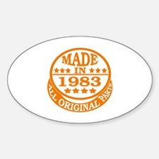 Made in 1983, All original parts Decal