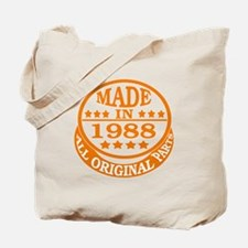 Made in 1988, All original parts Tote Bag