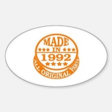 Made in 1992, All original parts Decal