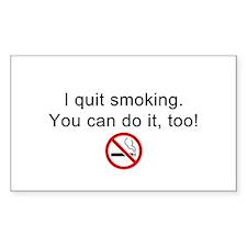 I quit smoking Decal