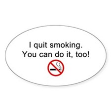 I quit smoking Decal