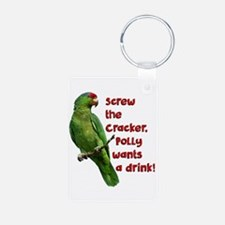 Smart Parrot Keychains