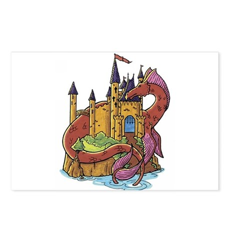 Dragon 1 Postcards (Package of 8)