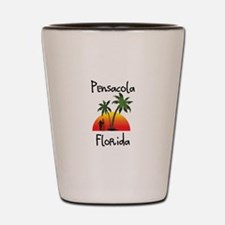 Pensacola Florida Shot Glass