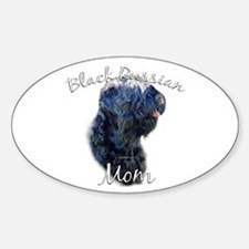 Russian Mom2 Oval Decal