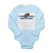 Cool Daddys boy Long Sleeve Infant Bodysuit