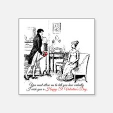 Ardently St. Valentine's Day Sticker
