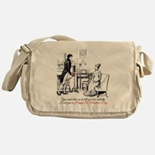 Ardently St. Valentine's Day Messenger Bag