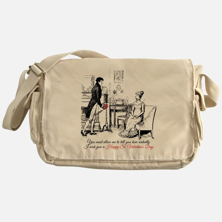 Ardently St. Valentine's Day Messenger Bag