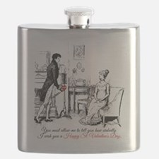 Ardently St. Valentine's Day Flask