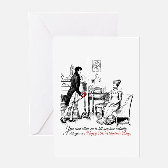 Ardently St. Valentine's Day Greeting Cards