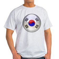 R Korea Flag Jewel T-Shirt