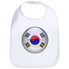 R Korea Flag Jewel Bib