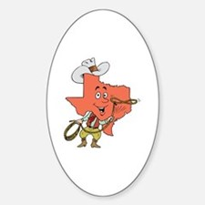 Unique Texas rodeo Decal