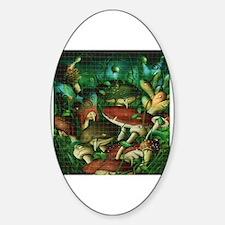 Cute Entheogen Sticker (Oval)