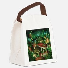 Funny Psychedelic Canvas Lunch Bag