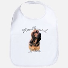 Bloodhound Mom2 Bib