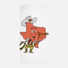 Texas toon Beach Towel