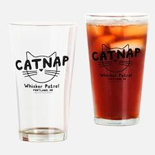 Catnap. Whisker Patrol Drinking Glass
