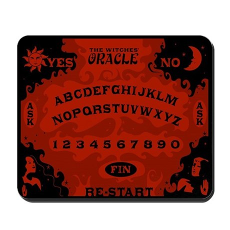 Witches' Oracle Mousepad