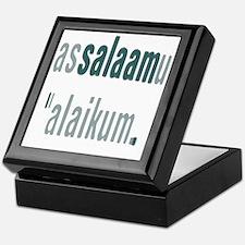 Unique Muslim Keepsake Box