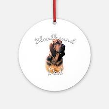 Bloodhound Dad2 Ornament (Round)