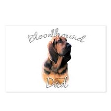 Bloodhound Dad2 Postcards (Package of 8)