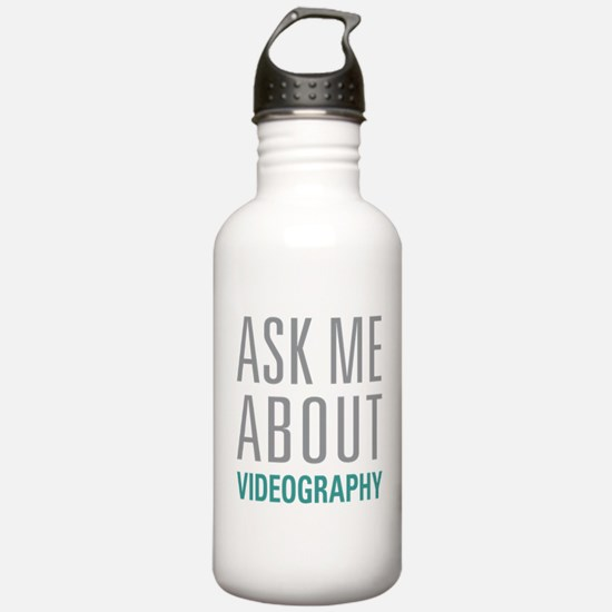 Videography Water Bottle