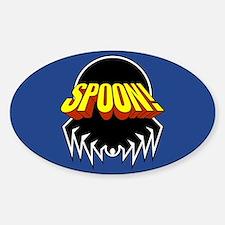 Unique Spoons Sticker (Oval)