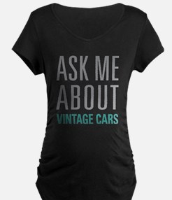 Vintage Cars Maternity T-Shirt