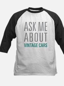 Vintage Cars Baseball Jersey