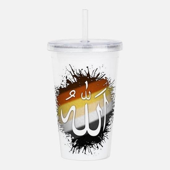 Cute Allah Acrylic Double-wall Tumbler